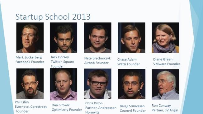 Startup School 2013 Speakers
