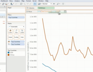 Drag and Drop Calculations - Tableau
